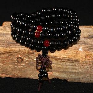 Black Meditation Bracelet